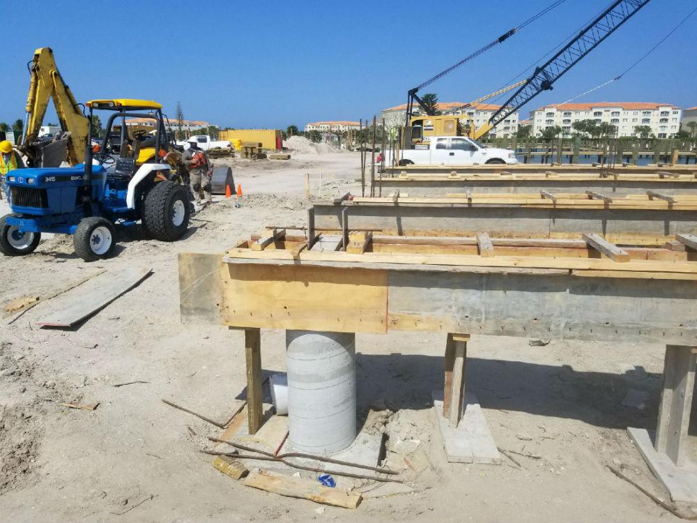 Marina Bldg foundationsmaller
