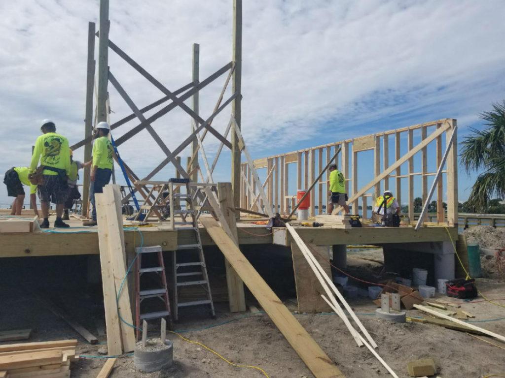 Marina building framingsmaller